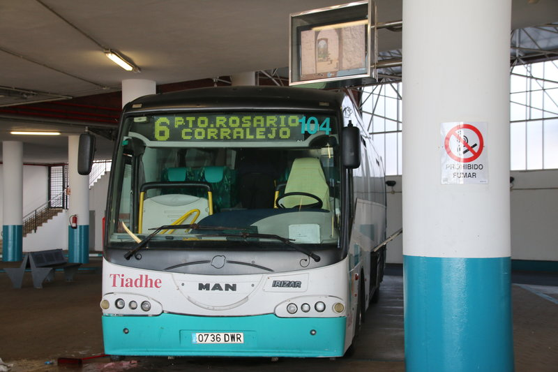 Corralejo bus - information on how and where to take the bus in Fuerteventura