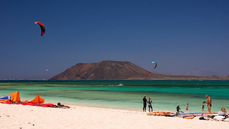 Fuerteventura, Corralejo activities.