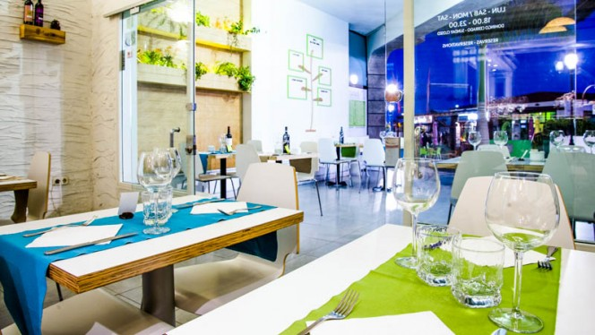 Sanus Fuerteventura. Sanus has a vegetarian menu, a vegan menu, a regular menu